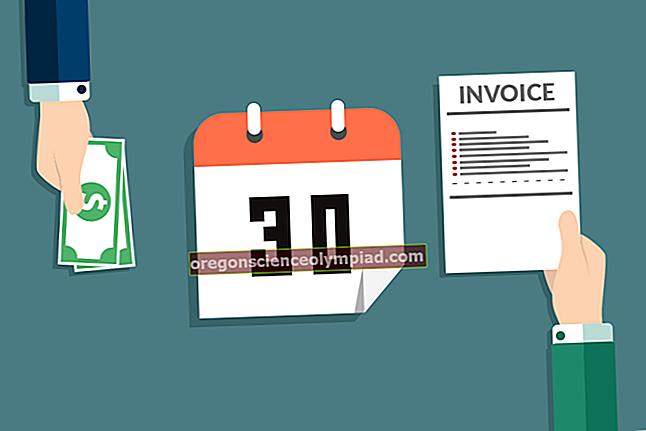Účetní platební podmínky