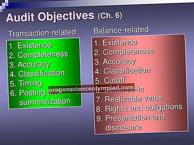 Cíle auditu