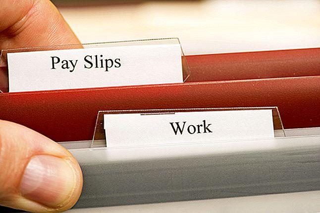 تعريف سجلات الرواتب