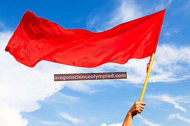 červená vlajka