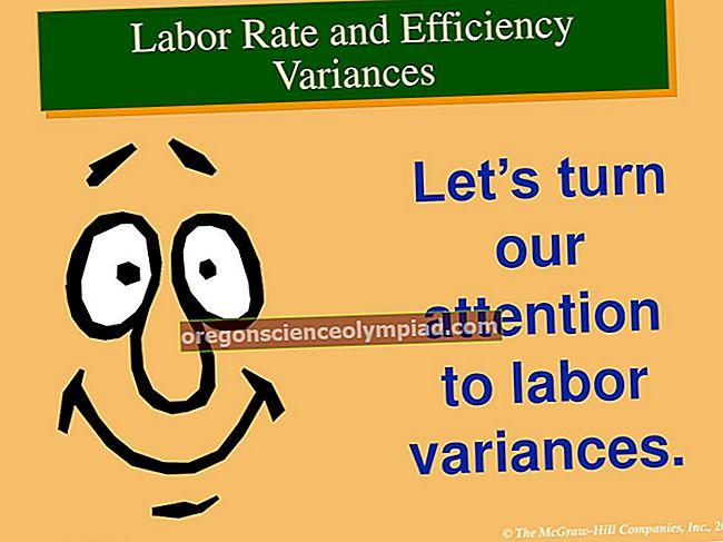 Rozptyl efektivity práce