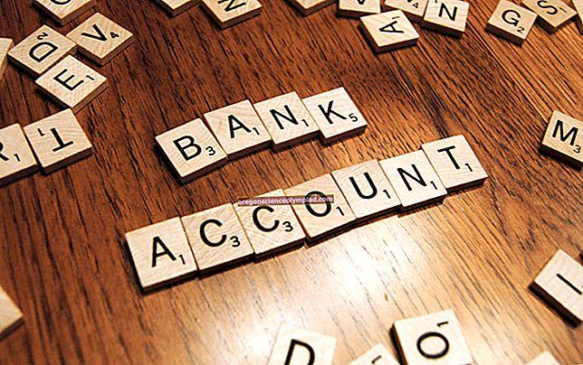 أنواع الحسابات المصرفية
