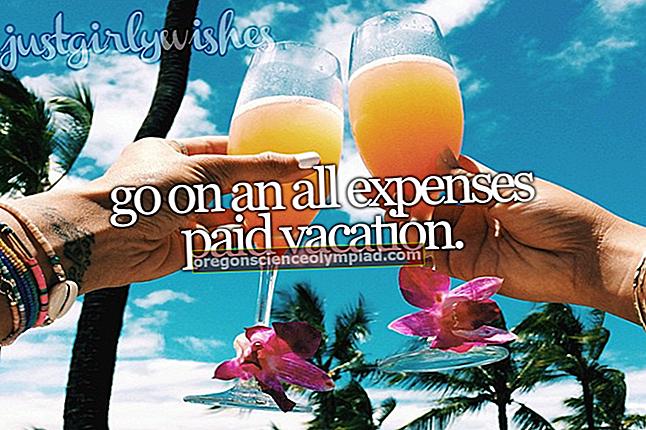 Výdaje za dovolenou