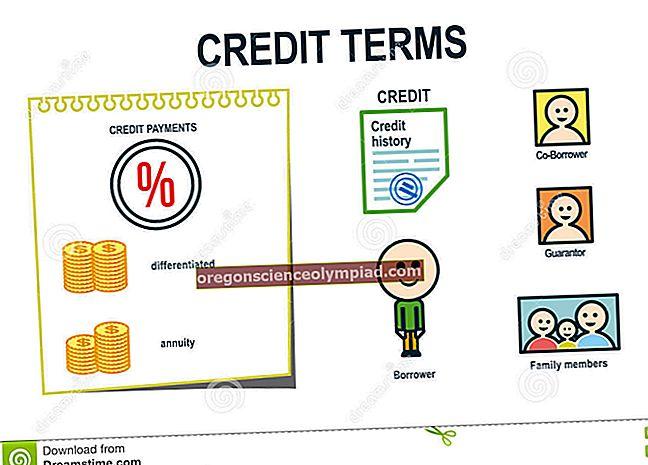 Kredito sąlygos ir kredito kaina