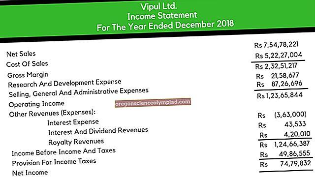 بيان الدخل